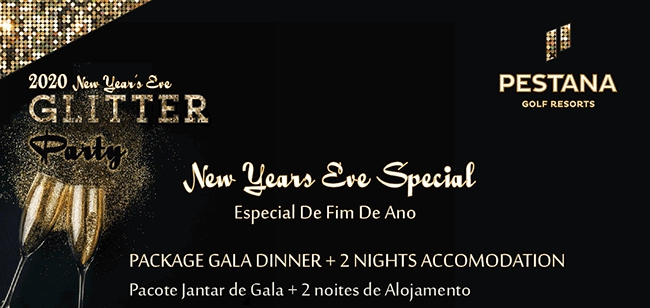 New Year's Eve Special at Pestana Golf Resorts