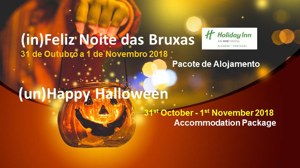 Night of Witches at Holiday Inn Algarve