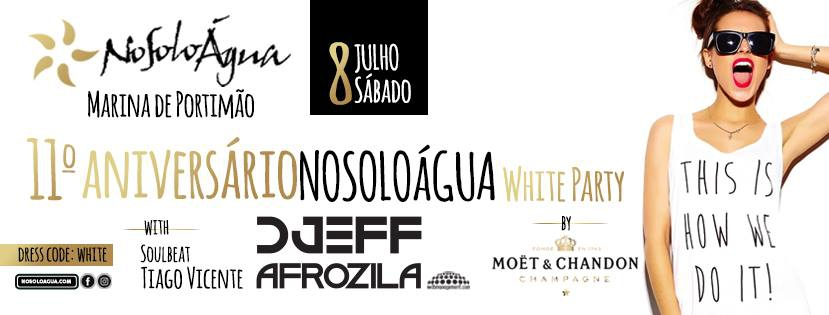 NoSoloAgua 11th Anniversary White Party