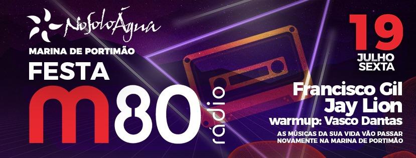 NoSoloÁgua Portimão M80 Party