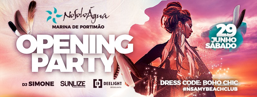 NoSoloÁgua Portimão Opening Party