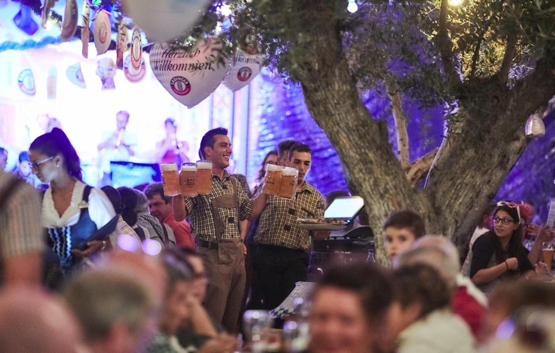 Oktoberfest in the Algarve at VILA VITA Biergaten
