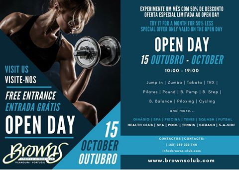 Open Day - Browns Vilamoura