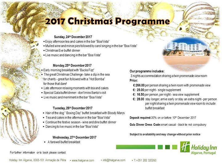 Our Christmas Programme 2017 /Programa de Natal