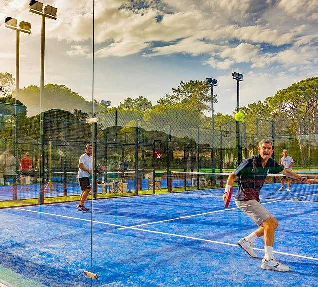 Padel Activities for Adults and Juniors at The Campus