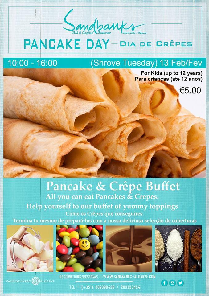 Pancake Day at Sandbanks