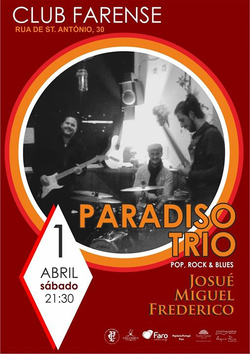 Paradiso Trio - Pop, Rock & Blues