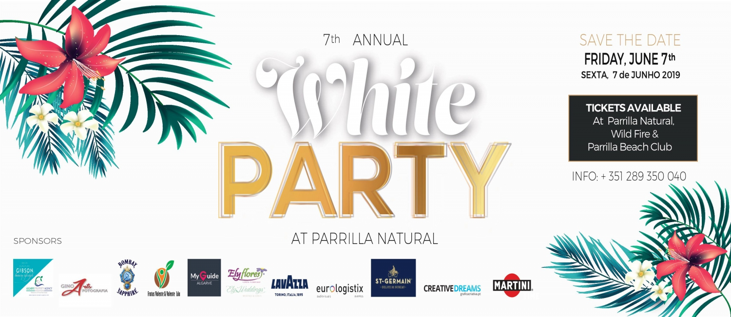 Parrilla Natural White Party 2019