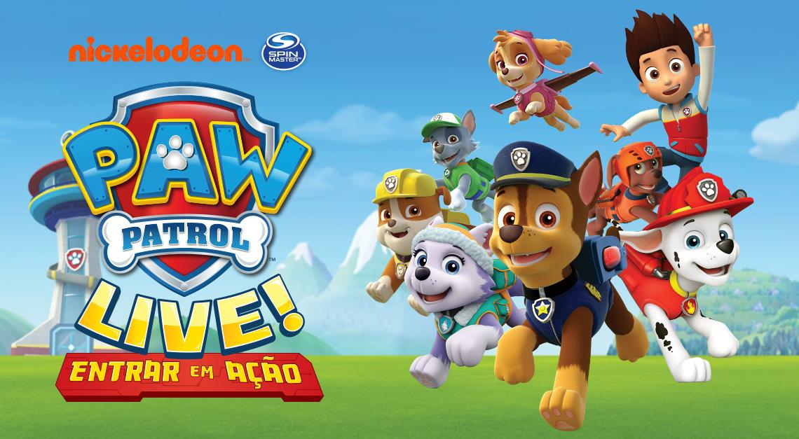Paw Patrol Live in the Algarve