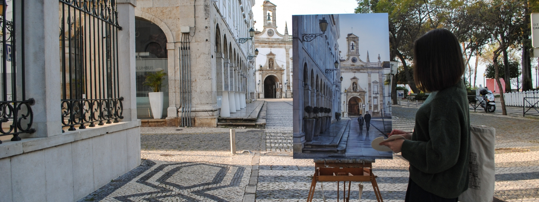 Photorealistic Urban Lanscape Paintings