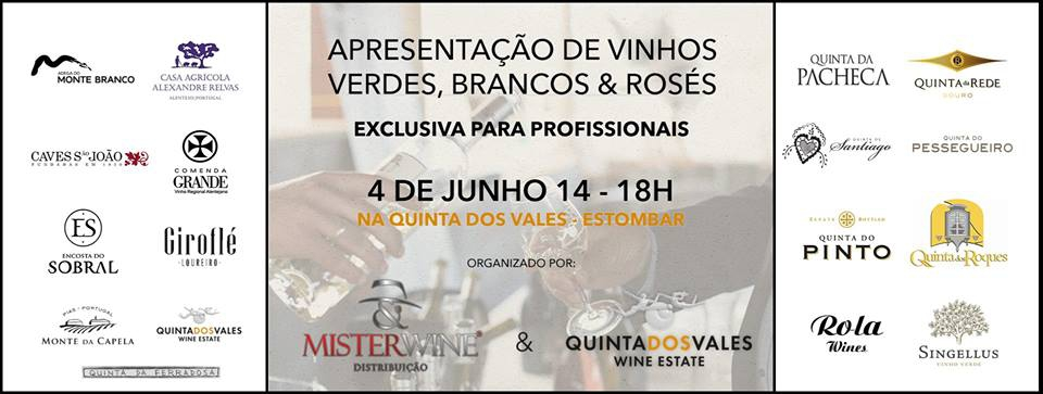 Presentation of Wines at Quinta dos Vales