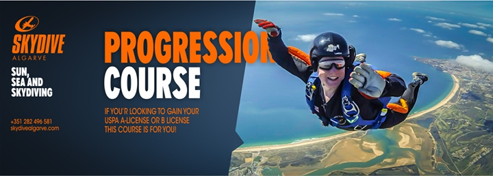 October Progression Course at Skydive Algarve