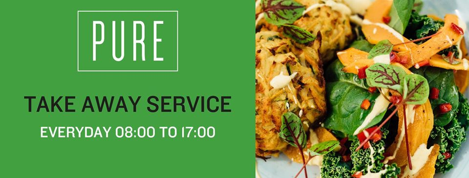 Pure Café Take Away Service