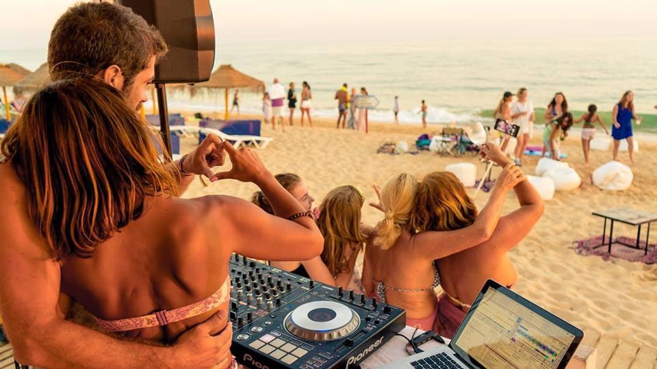 Q Beach Sunset Activities