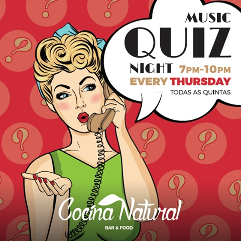 Quiz Nights at Cocina Natural