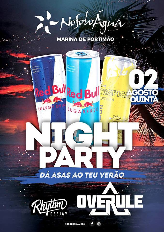 Red Bull Summer Party NoSoloÁgua Portimão