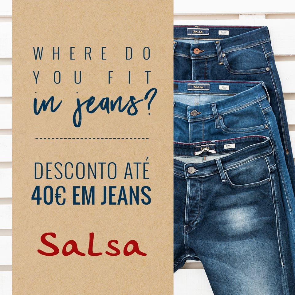 SALSA Jeans Offer at MAR Shopping Algarve
