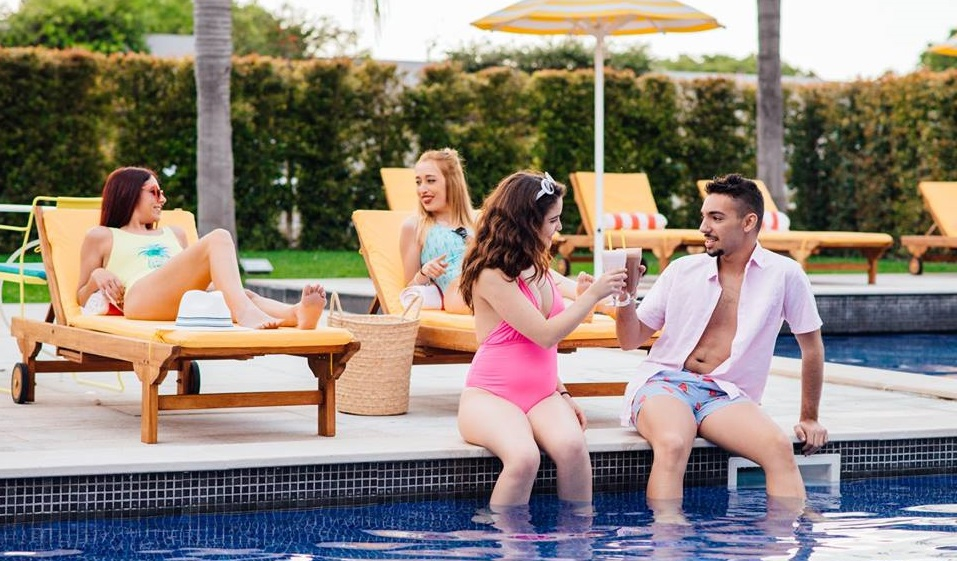 Saturday Brunch & Pool Party at The Magnolia Hotel