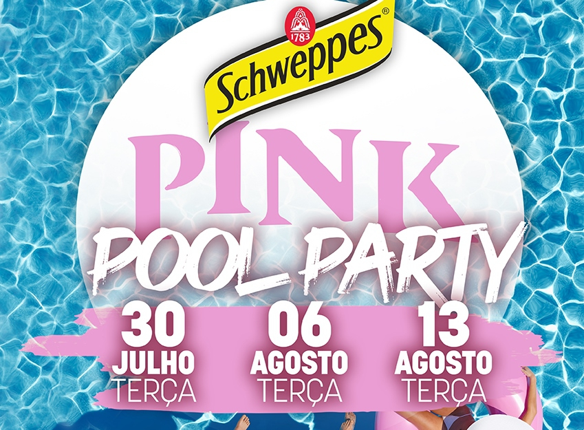 Schweppes Pink Pool Party at NoSoloÁgua Portimão