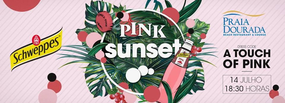 Schweppes Pink Sunset at Praia Dourada
