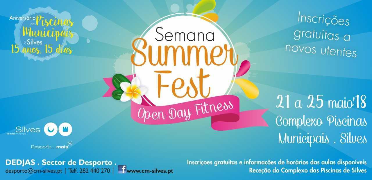 Semana Summer Fest - Open Day Fitness