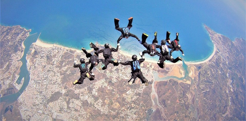 Sequential Games 2018 at Skydive Algarve