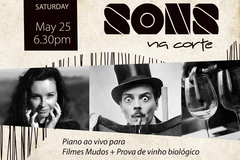 Silent Movies, Music & Wine at Herdade da Corte