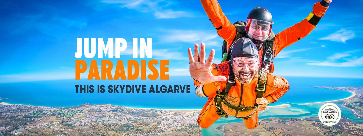 Skydive Algarve Summer Tandem Offer
