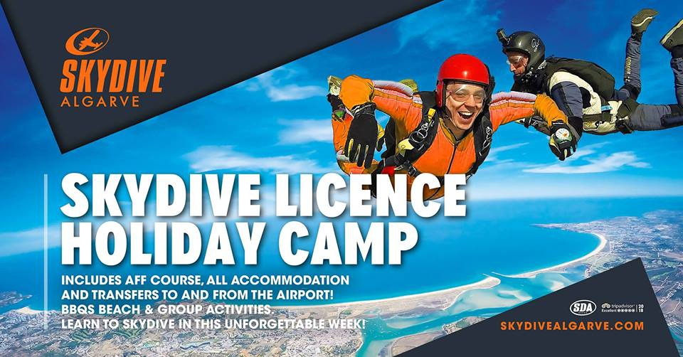 Skydive Licence Holiday Camp