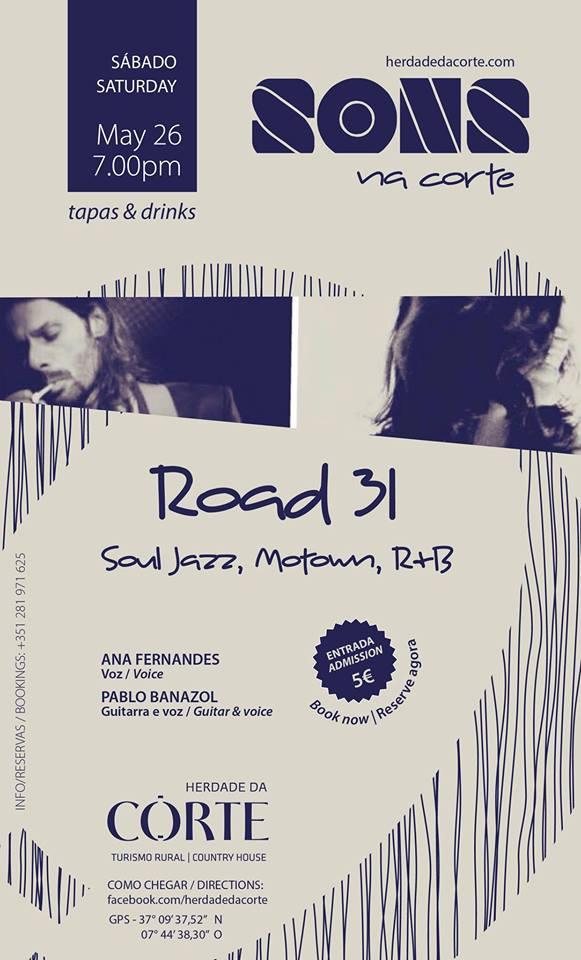 Soul, R&B & Motown with Road 31 at Herdade da Corte