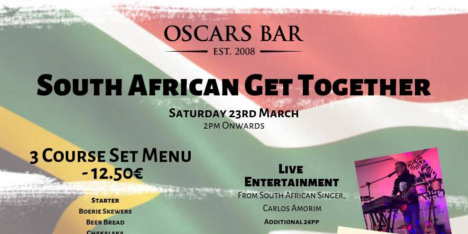 South African Get Together at Oscars Bar