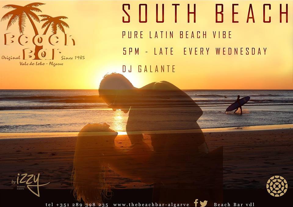 South Beach Sunset at The Beach Bar