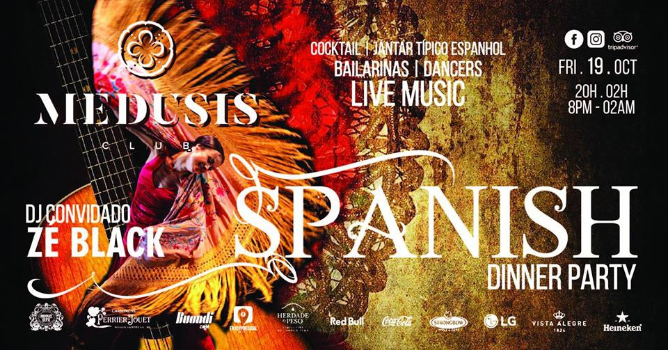 Spanish Dinner Party at Medusis Club