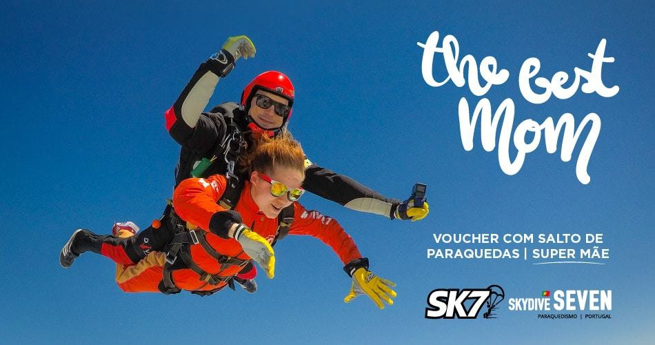 Special Mother's Day Parachute Jump with SK7