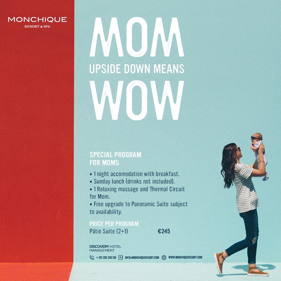 Special Programme for MOMs at Monchique Resort & Spa