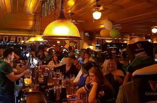 St. Patricks Day at O'Neills Bar in Vilamoura