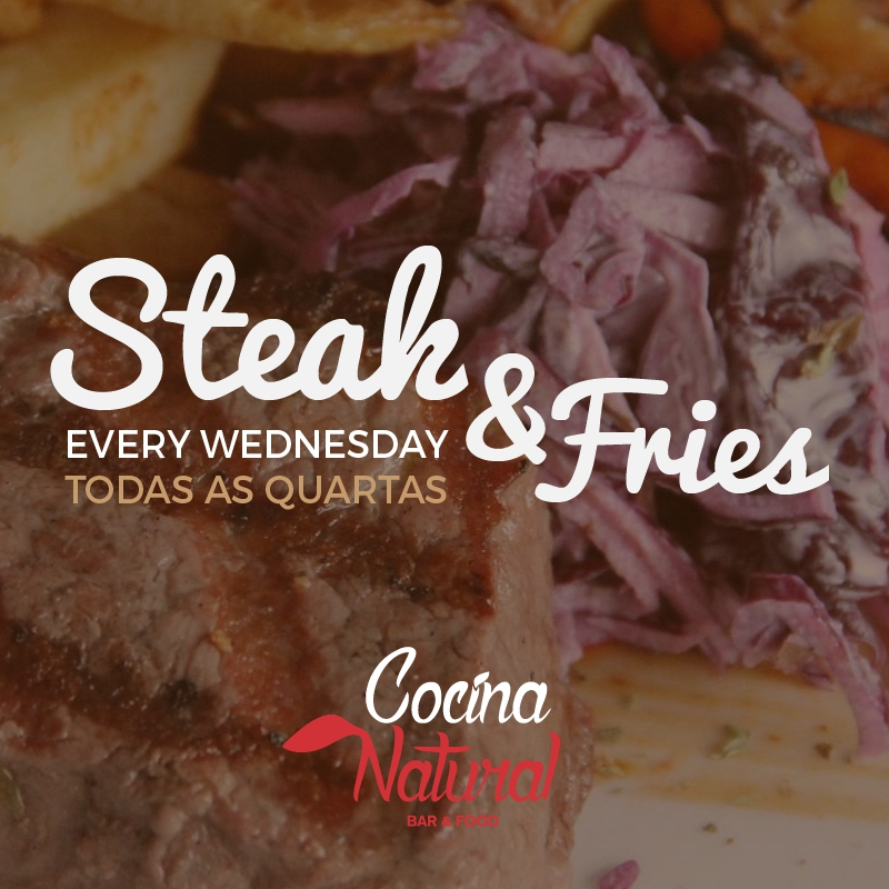 Steak & Fries Fridays