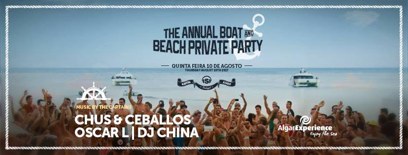 Stereo Boat & Beach Party by Algarexperience