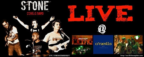 Stone Covers Band at O'Neills
