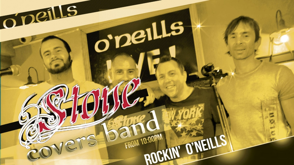 Stone Covers Band Live at O'Neill's