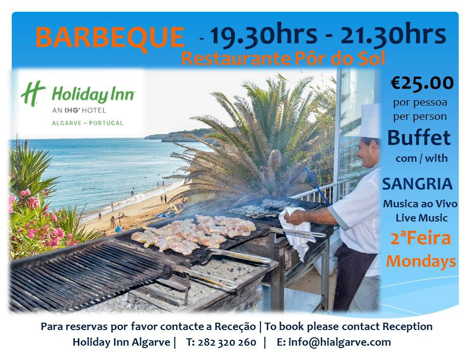 Summer Nights BBQ at Holiday Inn Algarve