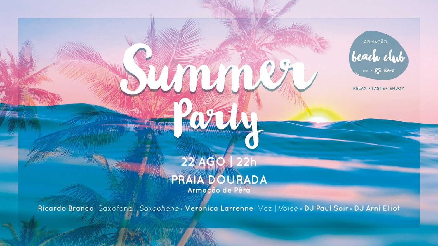 Summer Party at Armação Beach Club