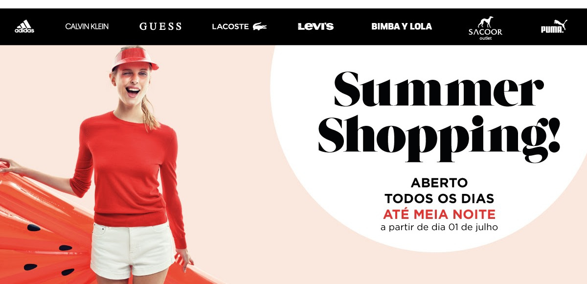 Summer Shopping at Designer Outlet Algarve