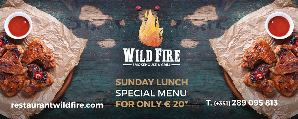 Sunday Lunch at Wild Fire Smokehouse &Grill
