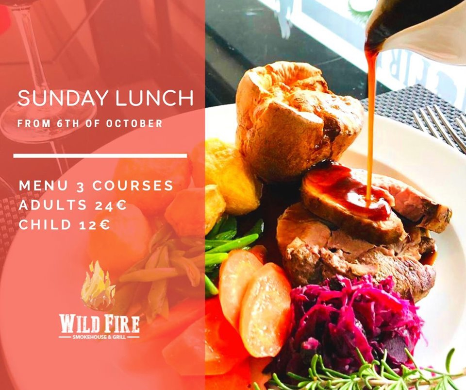 Sunday Lunch at Wildfire