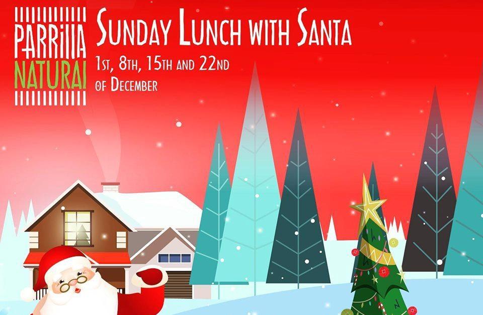 Sunday Lunch with Santa at Parrilla Natural
