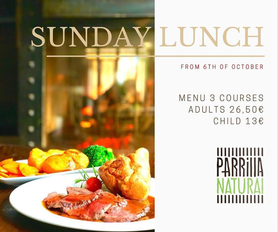 Sunday Roast is Back at Parrilla Natural