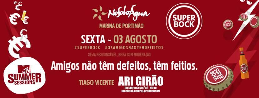 Super Bock- Defeitos dos Amigos at NoSoloAgua