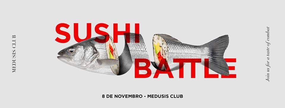 Sushi Battle at Medusis Club