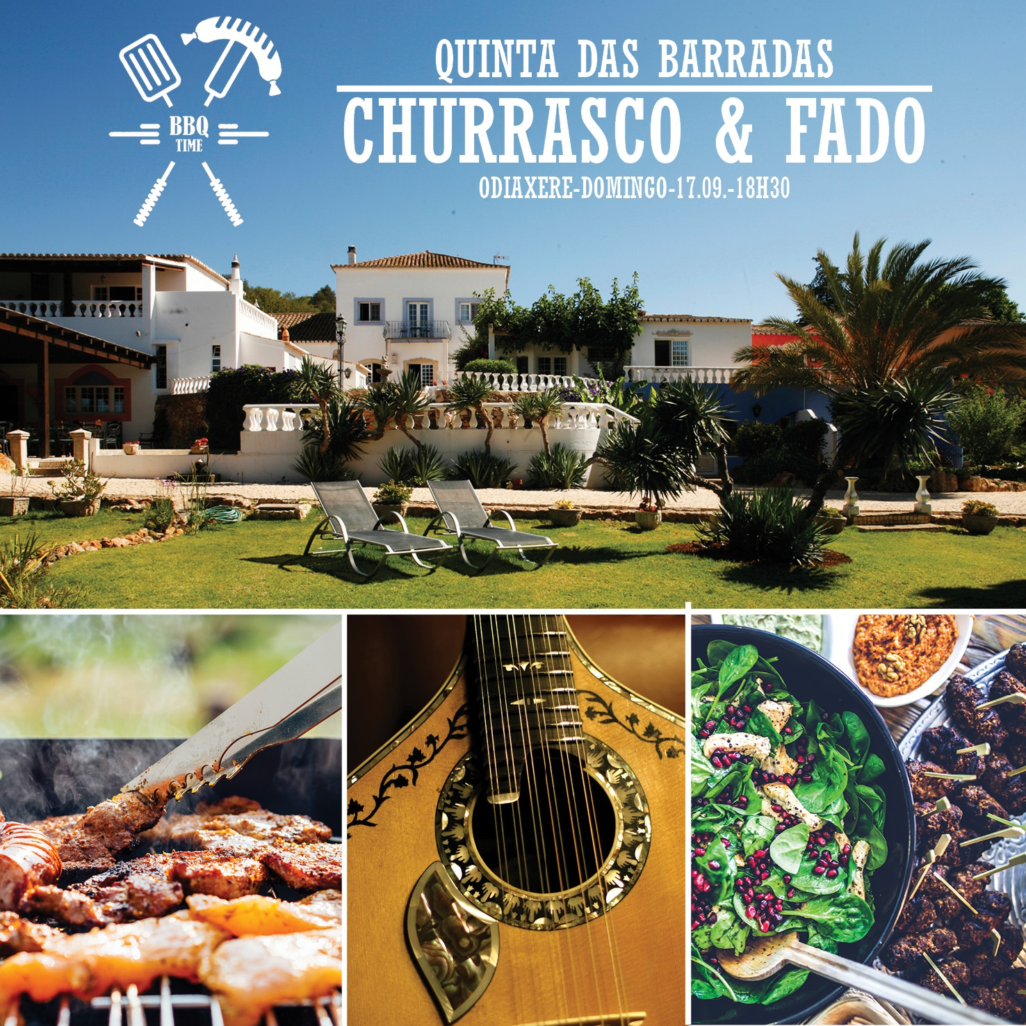 Traditional Portuguese Churrasco Sunday Dinner with Fado Live Music